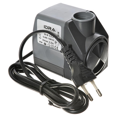 Pompe à eau crèche Idra réglable 400-1300l/h 25W 6