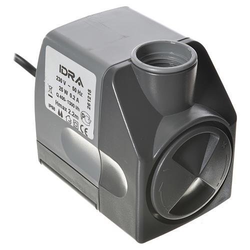 Pompa acqua presepe IDRA 400-1300 litri/ora 25w 1