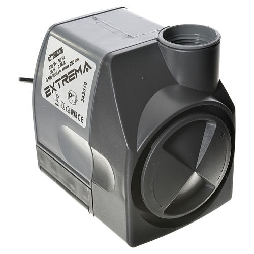 Water pump for nativities, EXTREMA 500-2500 litres/hour 35W 1