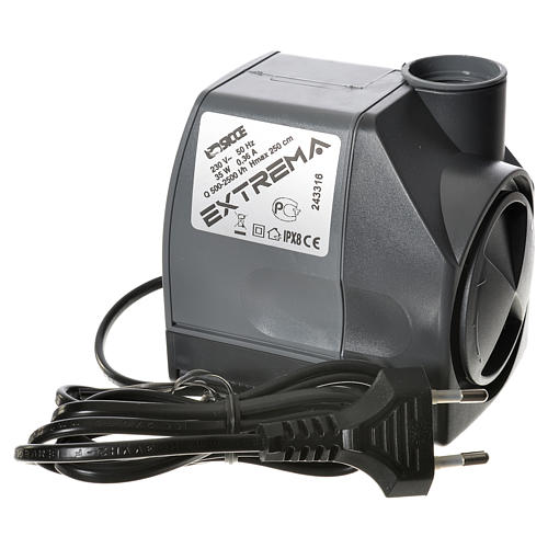 Water pump for nativities, EXTREMA 500-2500 litres/hour 35W 7
