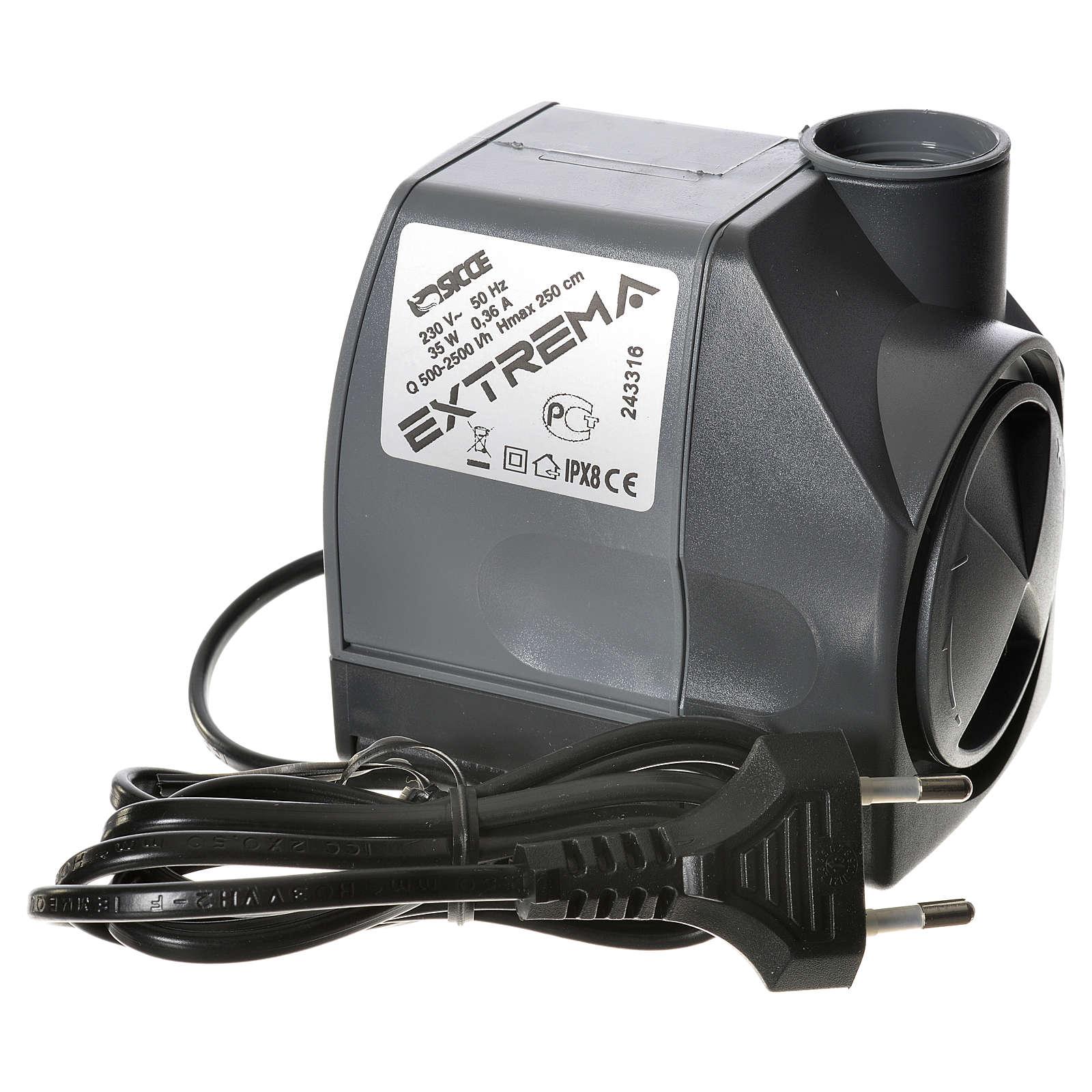Bomba agua belén EXTREMA 500-2500 litros/hora 35w 4