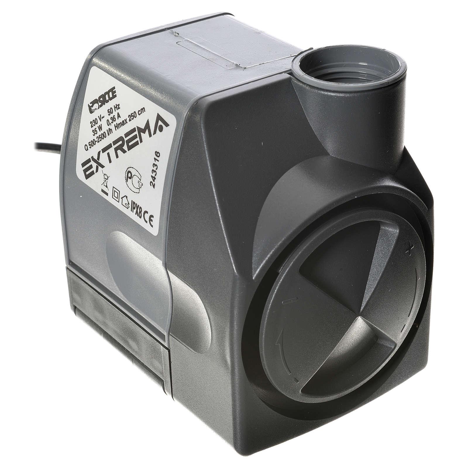 Bomba água presépio EXTREMA 500-2500 l/h 35W 4
