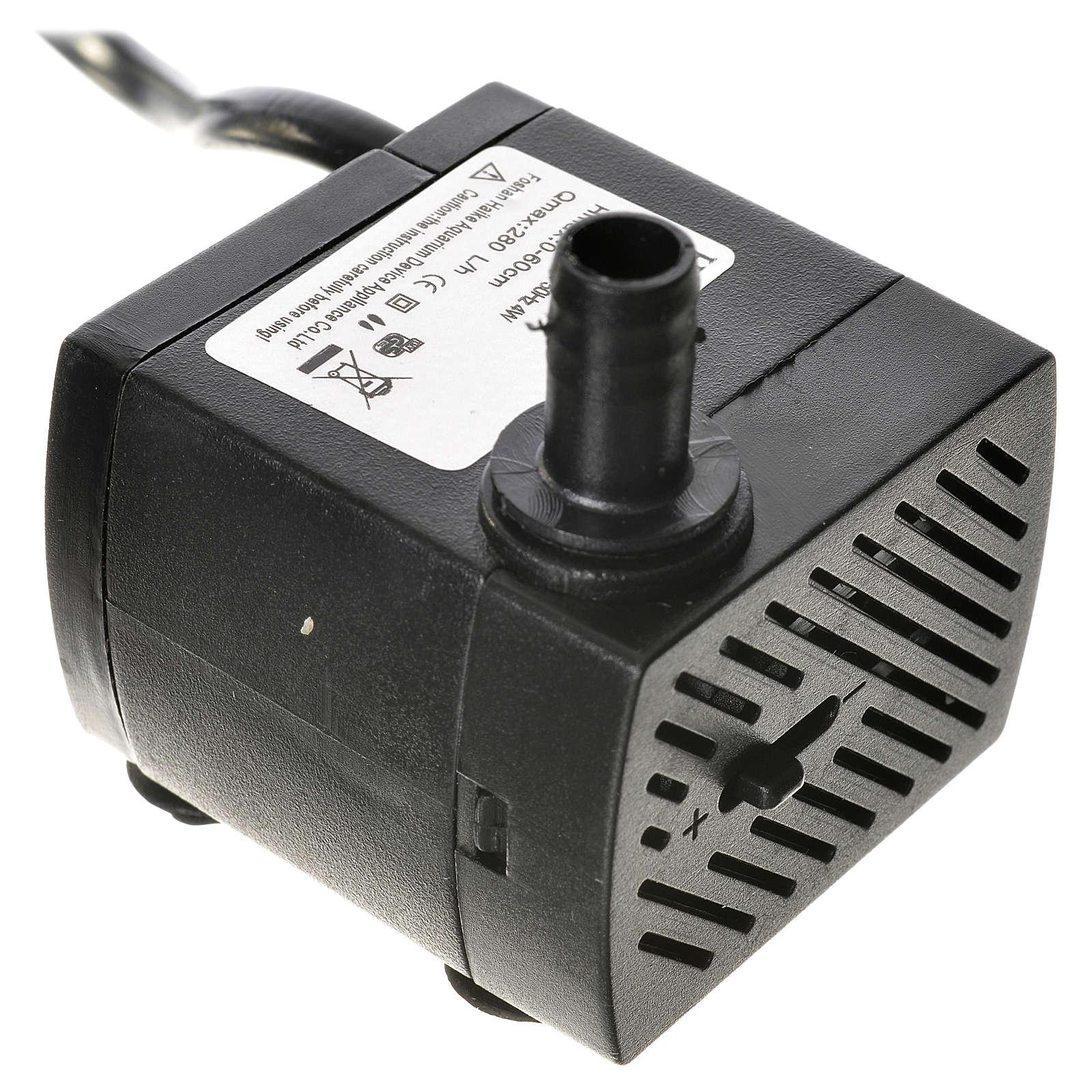 Pompa wodna szopka 4W 280l/h 4