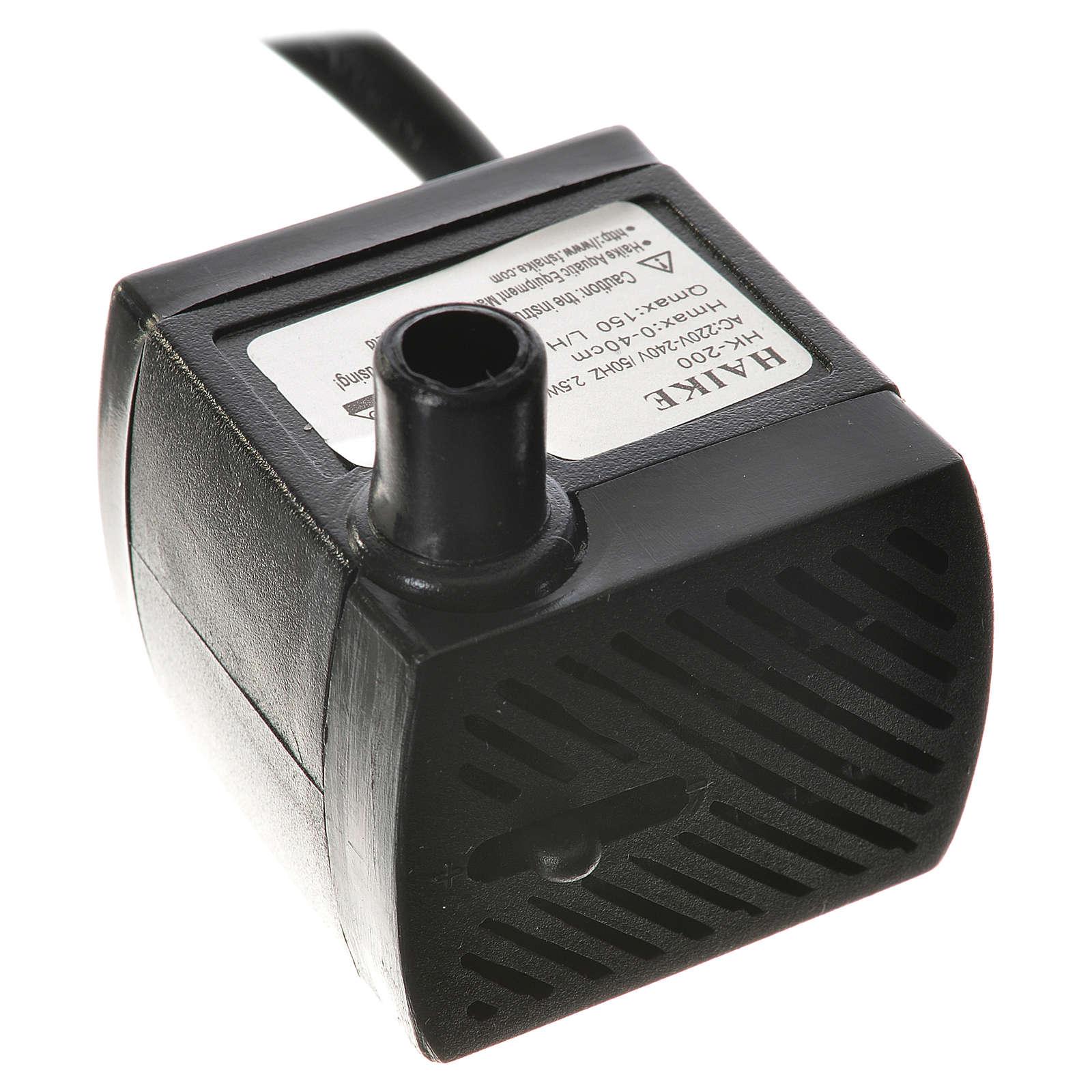 Bomba agua belén 2,5W 150 l/h 4