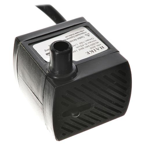 Bomba água para presépio 2,5W 150 l/h 1