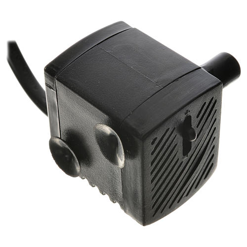 Water pump for nativities, 150 litres/hour 2.5W 2