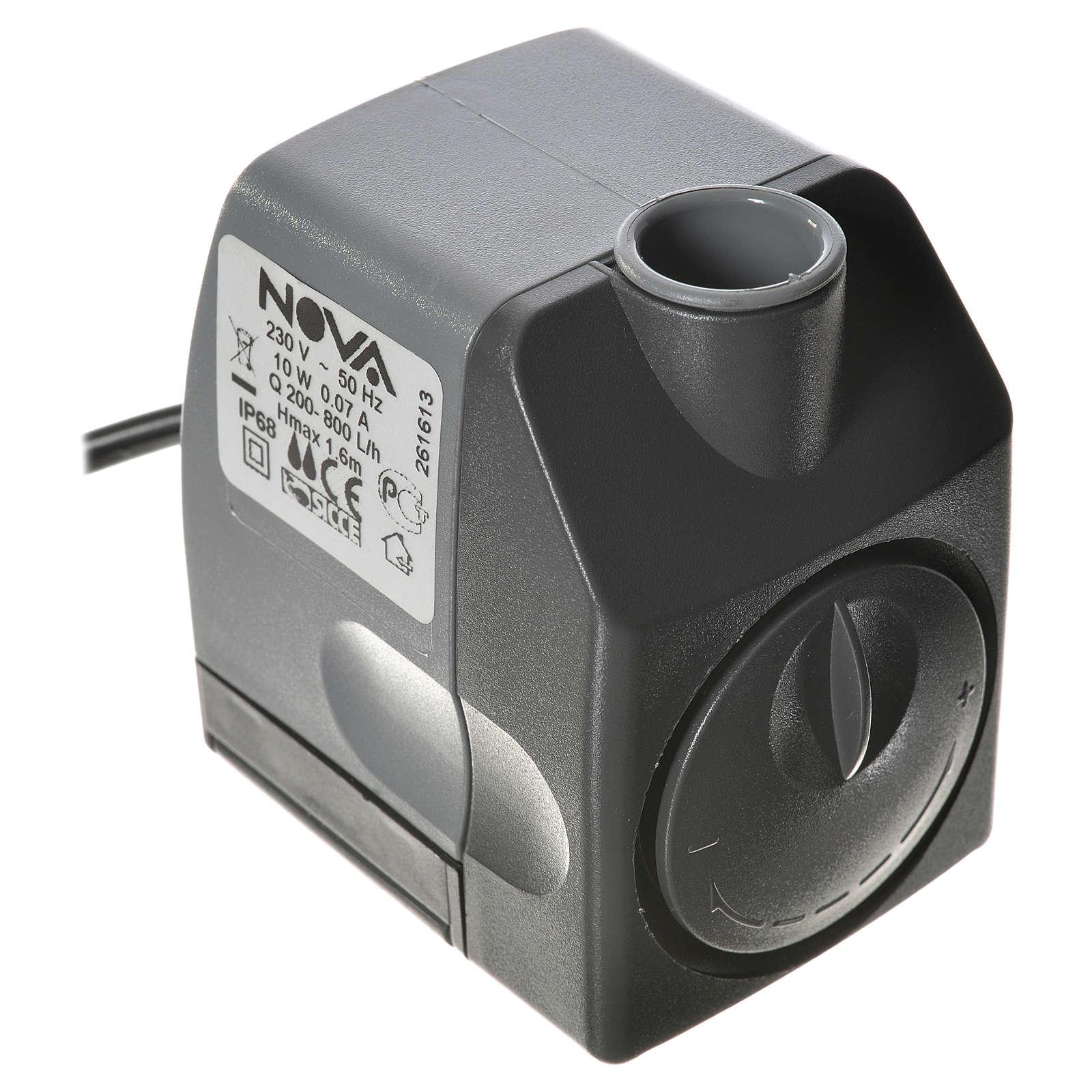 Bomba de Agua NOVA 200-800litros/hora 10W 4