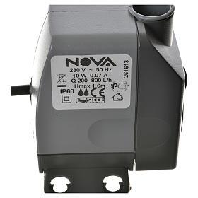 Pompa acqua presepe NOVA 200-800 litri/ora 10W s4
