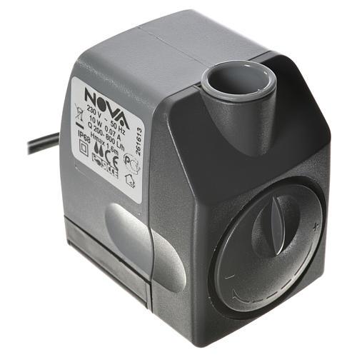 Pompa acqua presepe NOVA 200-800 litri/ora 10W 1