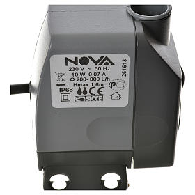 Water pump for nativities, NOVA 200-800 litres/hour 10W s4