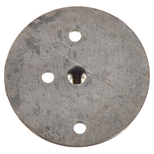 Iron pulley for motor reductor 353mm with 4mm hole 2