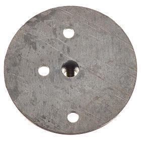 Puleggia in ferro per motoriduttore 35 mm foro attacco 4 mm s2