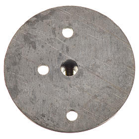 Iron pulley for motor reductor 353mm with 4mm hole s2