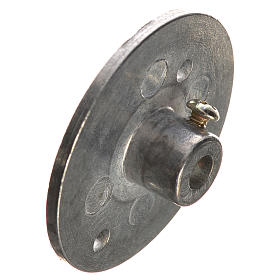 Iron pulley for motor reductor 353mm with 4mm hole s3