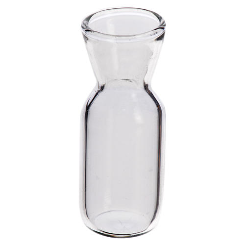 Quartino in vetro 3,7x1,4 cm per presepe 1