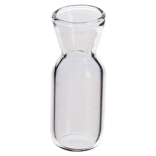 Glass wine bottle for nativity, 3.7x1.4cm 1