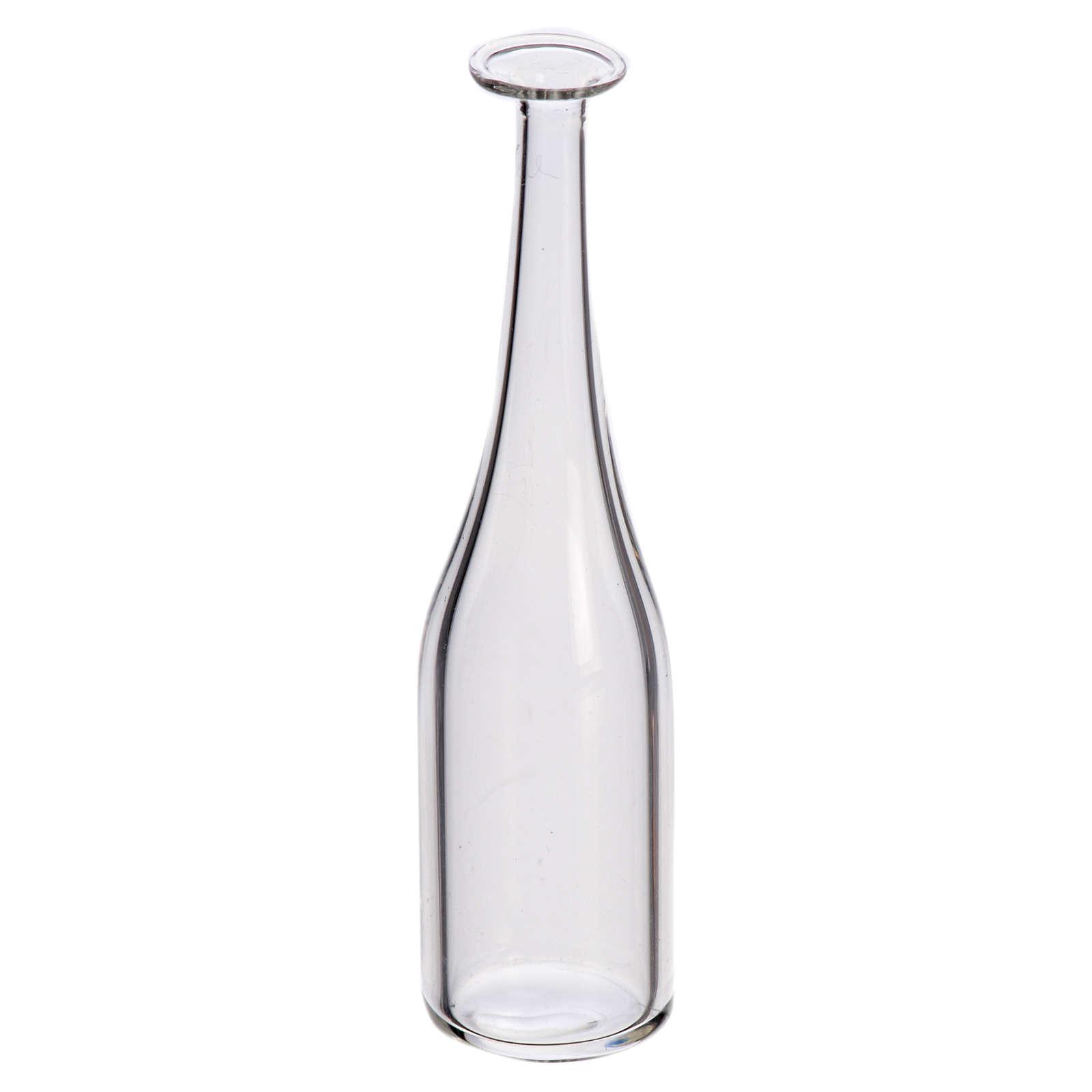 Glass wine bottle for nativity, 2.3x1cm 4