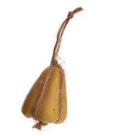 Comida em Miniatura para Presépio: Queijo em cera modelos vários para figuras presépio 10-12 cm