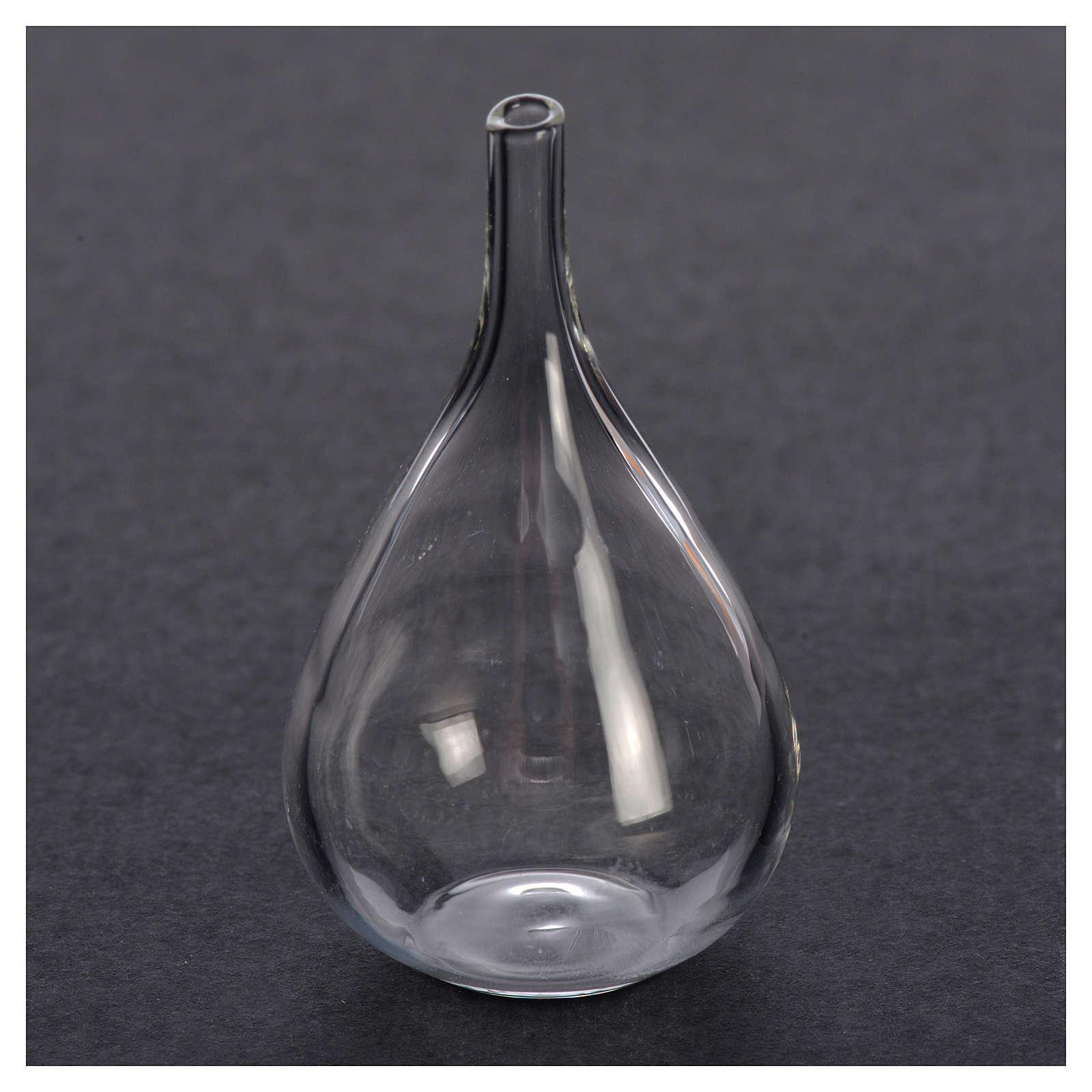 Bouteille verre miniature crèche 2,8x1,3 cm 4
