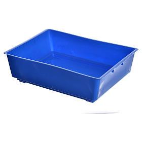 Bassine pour fontaine crèche 27,5x20x7,5 cm s1