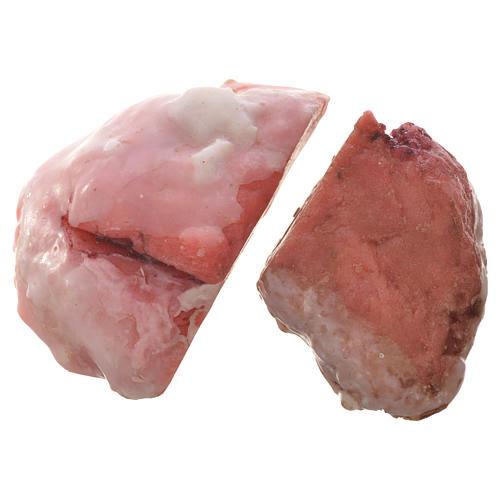 Carne appesa in cera per figure presepe 20-24 cm assortiti 3