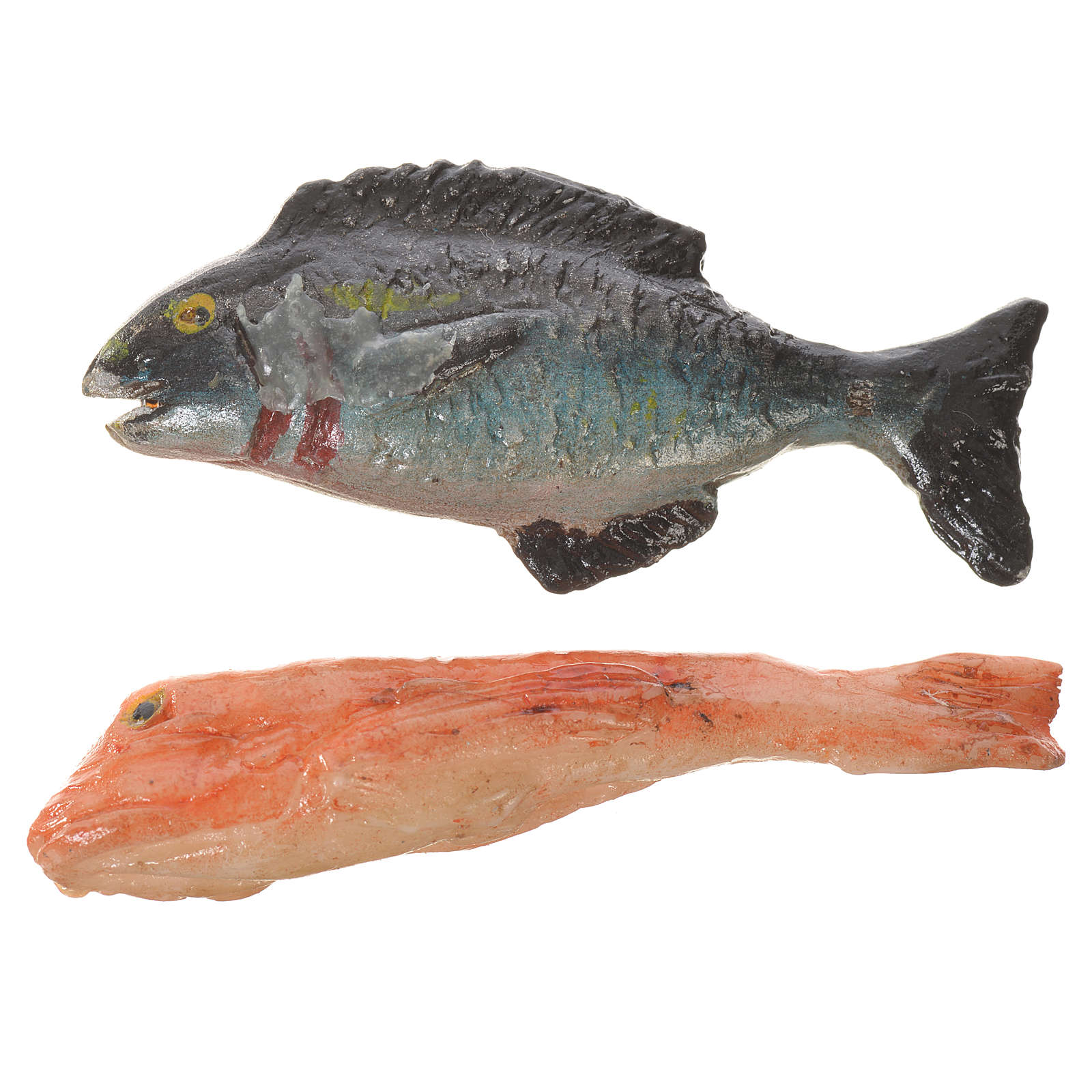 Accessory for nativities of 20-24cm, fish in wax 4