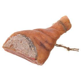 Prosciutto tagliato in cera per figure presepe 20-24 cm s2