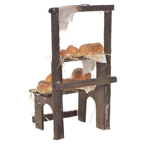 Baker's stall in wax, 13.5x8x5.5cm 3