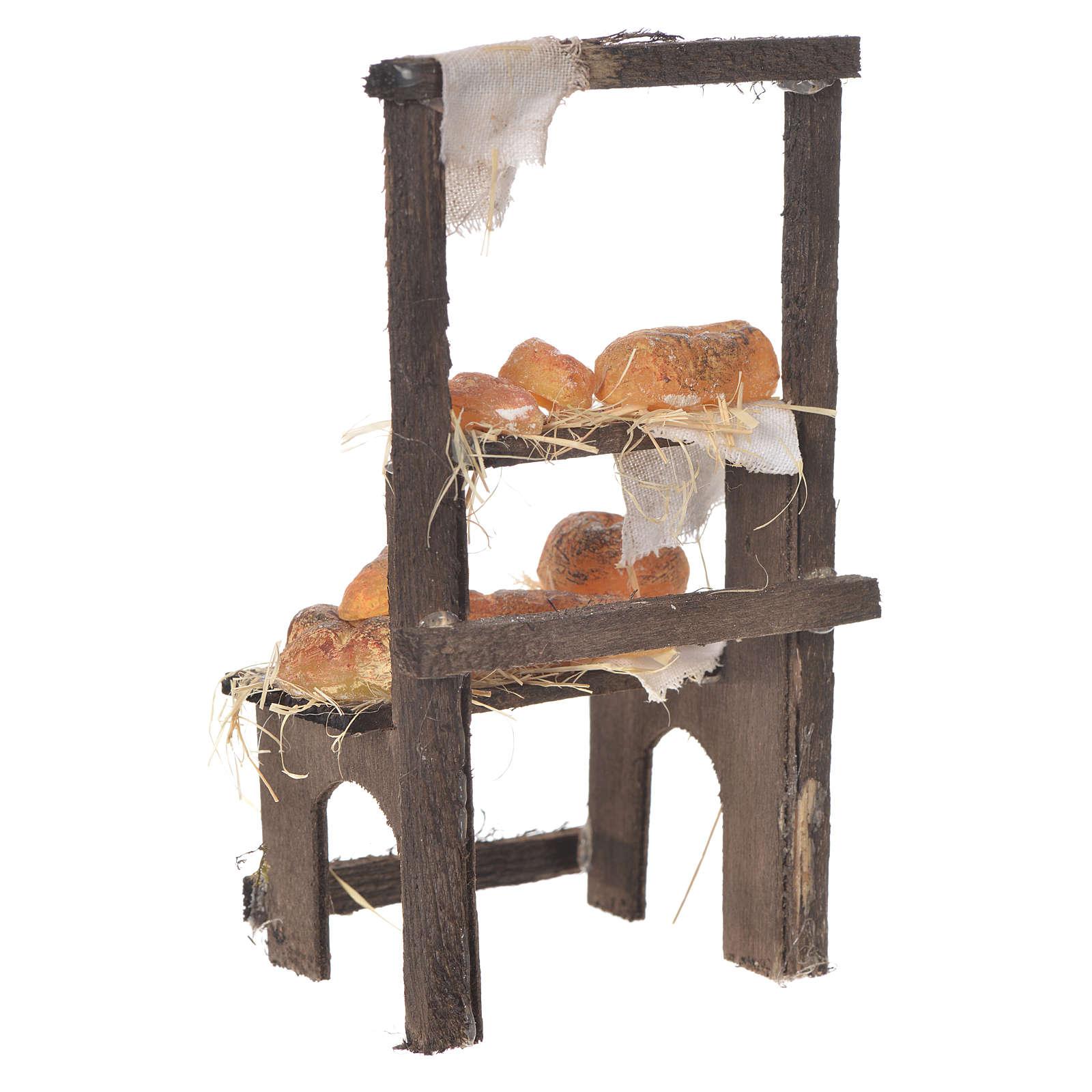 Mesa Panadería de cera 13.5x8x5.5 cm 4