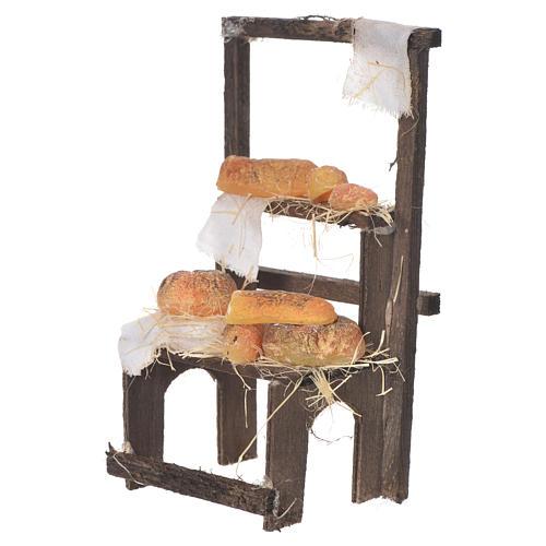 Banchetto del panettiere in cera 13,5x8x5,5 2