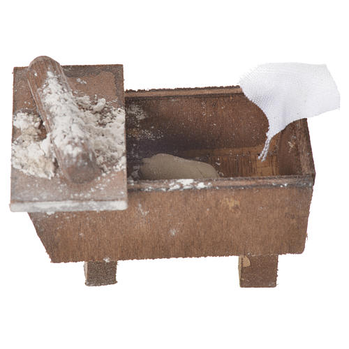 Caja con pan de terracota 5x7.5x4cm 3