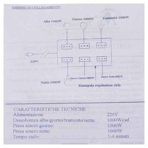 Nativity control unit 4+2 phases 1000W 3