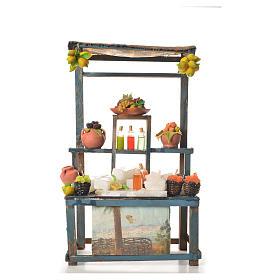 Comida em Miniatura para Presépio: Banca granita em cera 38x22x13 cm