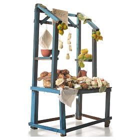 Nativity ricotta cheese stall, 41x25x15cm s4
