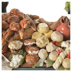 Nativity ricotta cheese stall, 41x25x15cm s5
