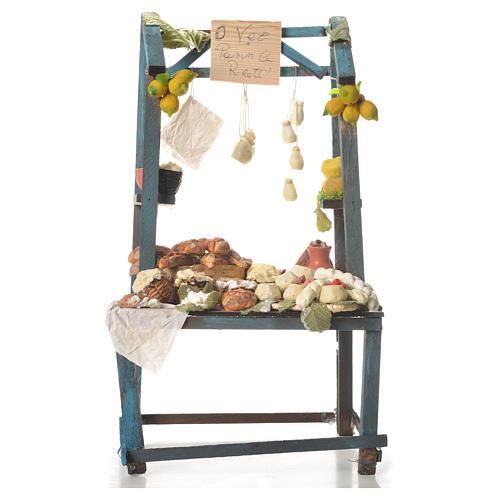 Nativity ricotta cheese stall, 41x25x15cm 1