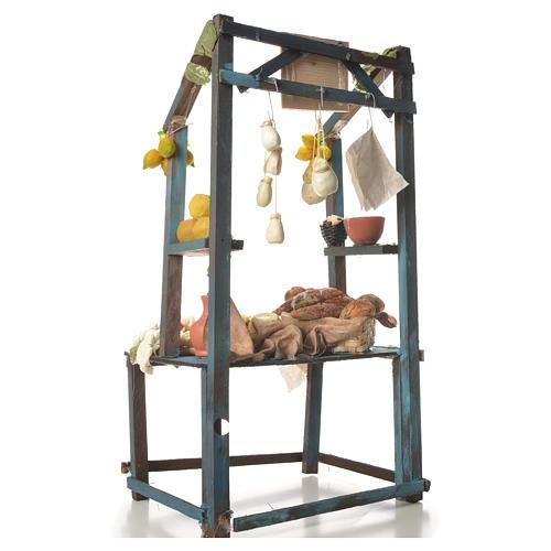 Nativity ricotta cheese stall, 41x25x15cm 3