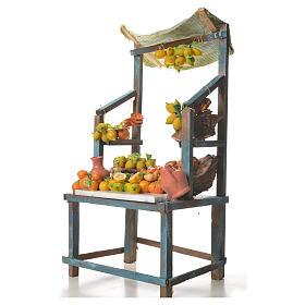 Stand mit Zitronen aus Wachs 41x25x16cm s2