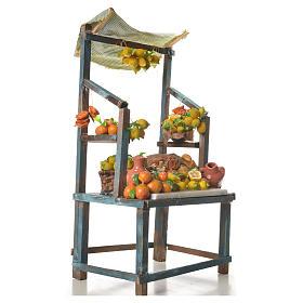 Stand mit Zitronen aus Wachs 41x25x16cm s4