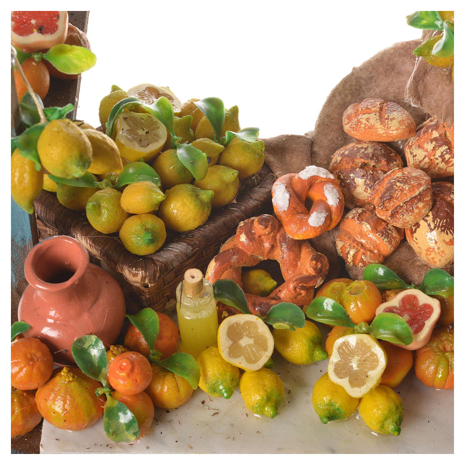 Nativity lemon stall, 41x23x15cm 4