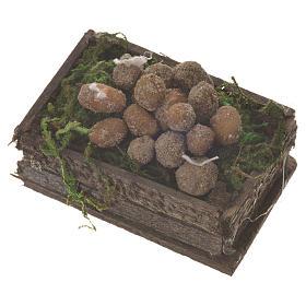 Caisse pommes de terre cire pour santons crèche 20-24 cm s2
