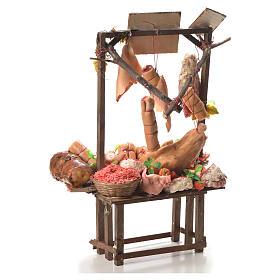 Tienda vendedor de lechón asado cera belén 52 x 38 x 20 cm s3