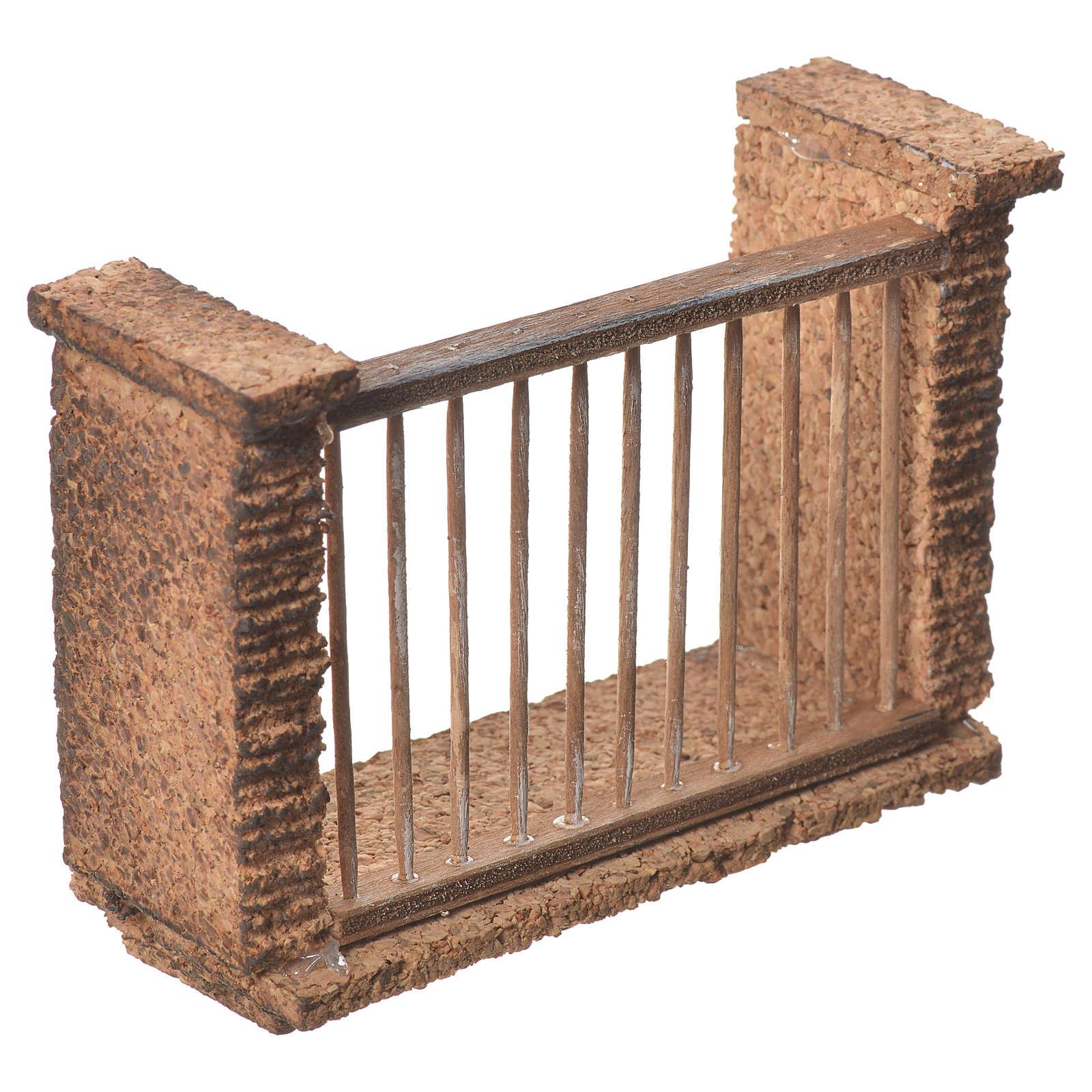 Balcone presepe napoletano 11x8x4 4