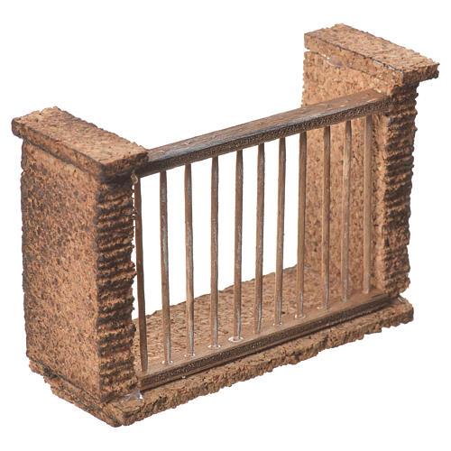 Balcone presepe napoletano 11x8x4 2