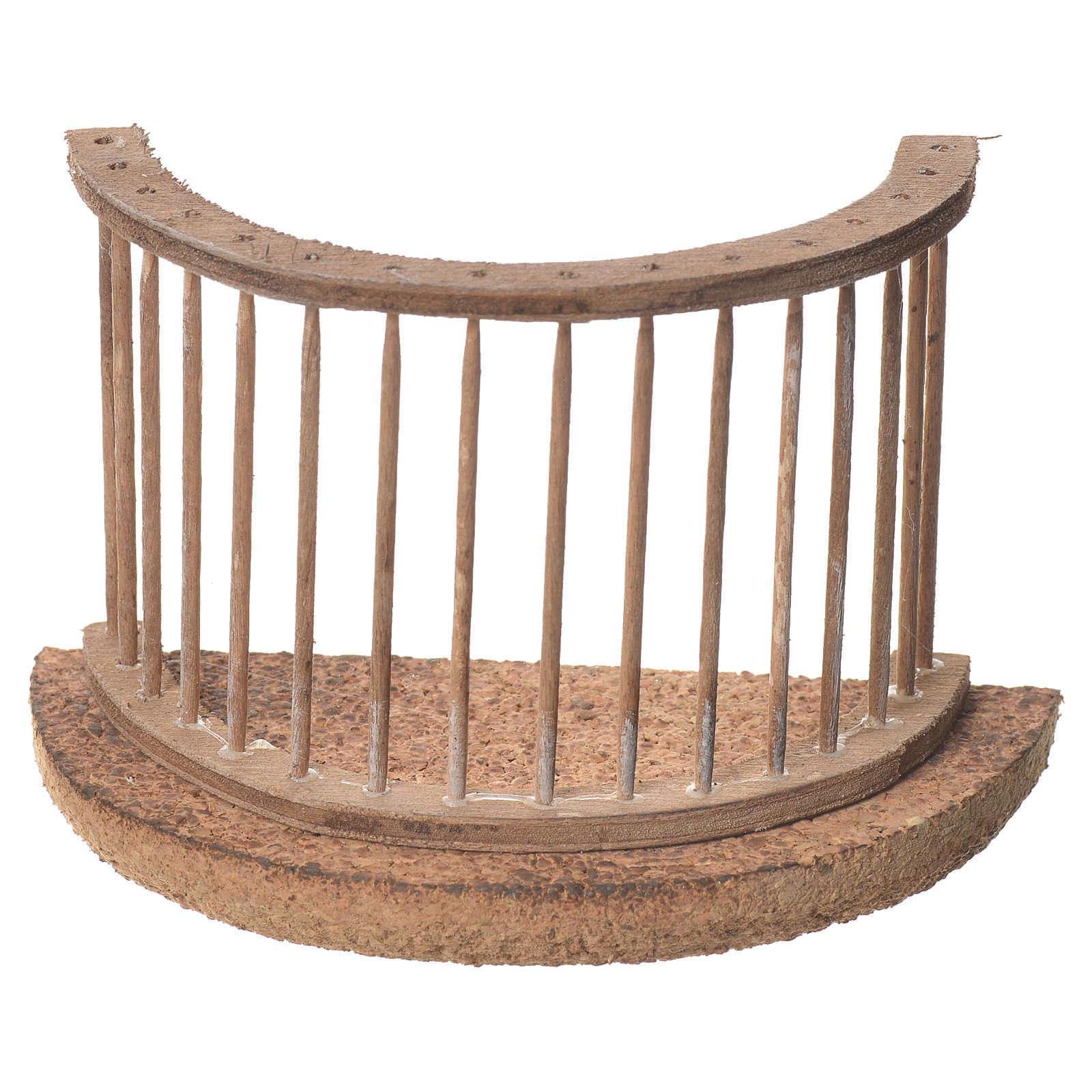 Balcone presepe napoletano 11x9 4