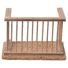 Balcone presepe napoletano 10x7x6 s1