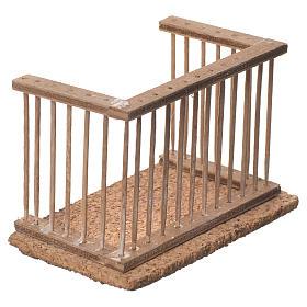 Balcone presepe napoletano 10x7x6 s2
