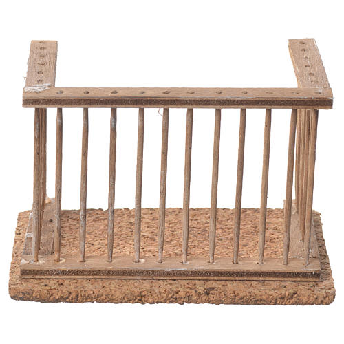 Balcone presepe napoletano 10x7x6 1