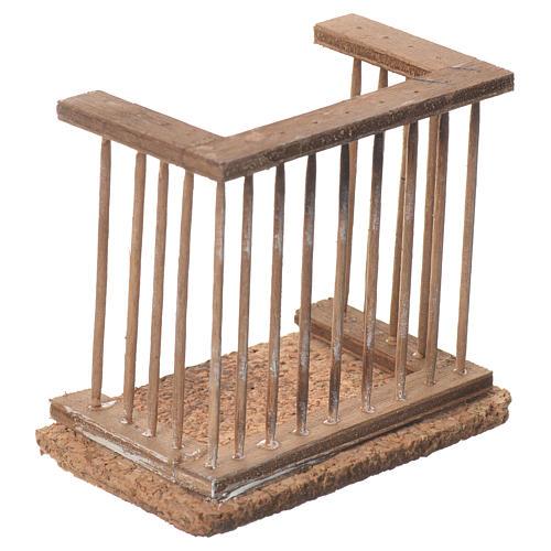 Balcone presepe napoletano 8x7x4 2