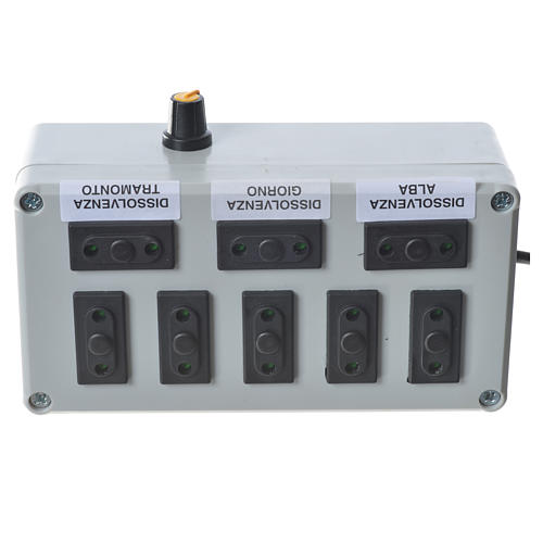 Controlador belén 1000 W 4+4 fases 3
